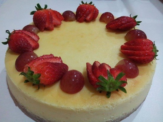 American Baked Cheesecake
