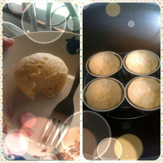 Easy Steam Milk Cup Cake