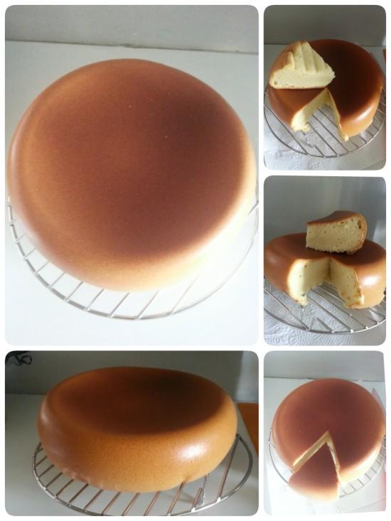 Japanese Sponge Cake In Rice Cooker