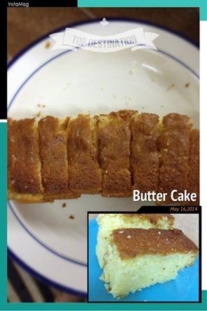 Mrs NgSK's vanilla butter cake