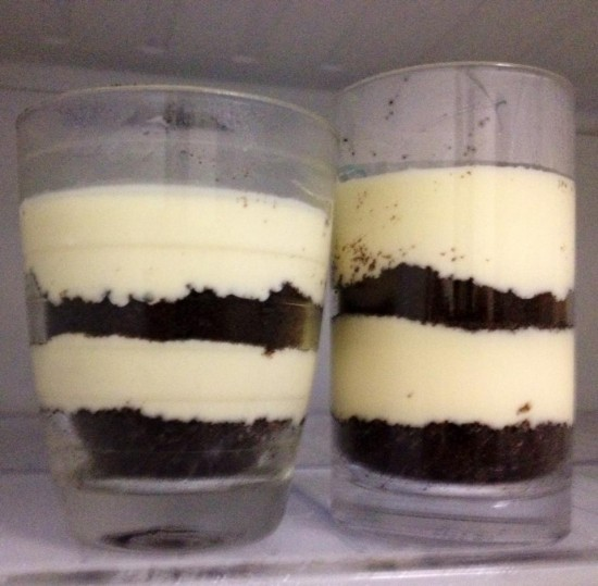 Non Bake Oreo Marshmallow Cheesecake in Cup