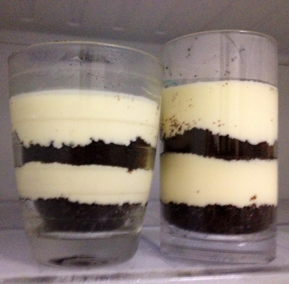 Non Bake Oreo Marshmallow Cheesecake In Cup My Baby Recipe