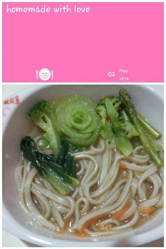 Organic Spirulina Noodles