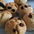 min shiang - raisin muffin