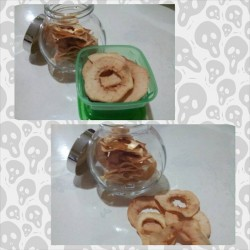yap lai fan - dried apple chips