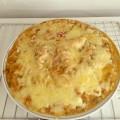 min shiang - cheese bake pasta
