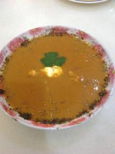 yaiyaichew-butternut squash soup