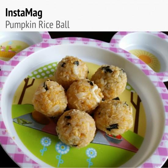 Pumpkin Rice Ball