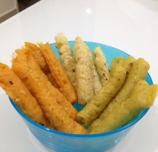Healthy potato rice stick (fries)