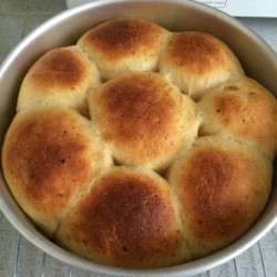 min shiang - cheese bun