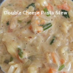 Double Cheese Pasta Stew