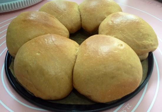 Soft milo milk bun