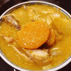 min shiang - pumpkin curry